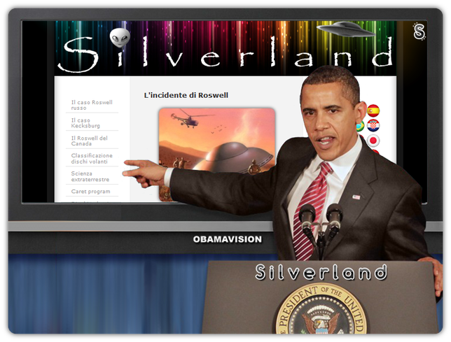 Obama Conference - by Silver