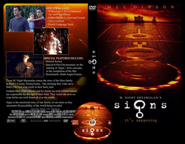 Signs - Copertina DVD + CD