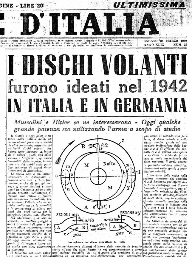 """Il Giornale d'Italia"""" del 24-25 marzo 1950"""