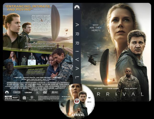 Arrival - Copertina DVD + CD