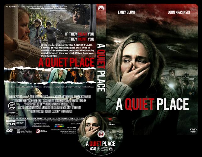 A quiet place - Copertina DVD + CD
