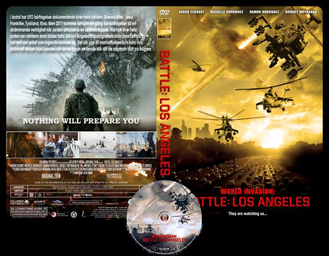 World Invasion Copertina DVD + CD
