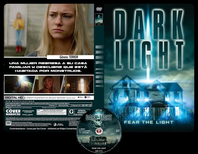 Dark light - Cover DVD + CD
