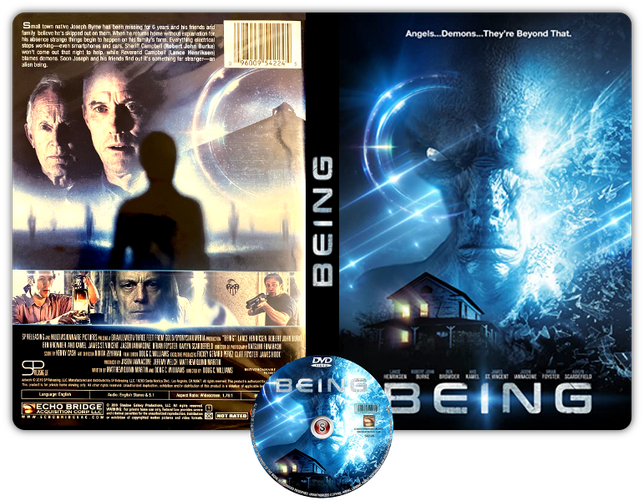 Being - Copertina DVD + CD