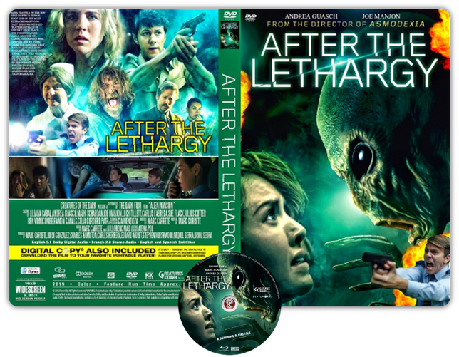 After the lethargy - Copertina DVD + CD