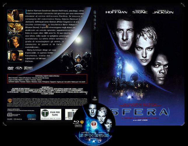 Sfera - Sphere - Copertina DVD + CD