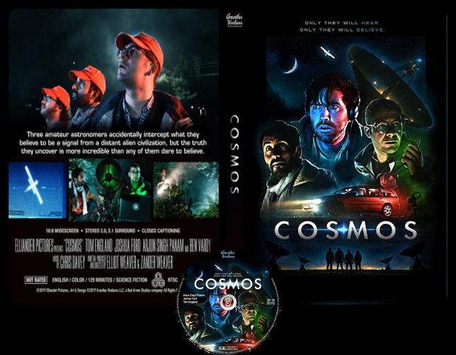 Cosmos - Locandina - Copertina DVD + CD