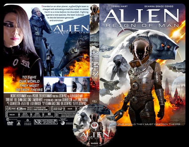 Alien reign of man - Copertina DVD + CD