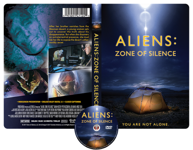 Aliens: Zone of Silence - Copertina DVD + CD