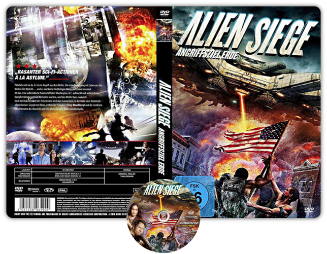 Alien Siege - Copertina DVD + CD