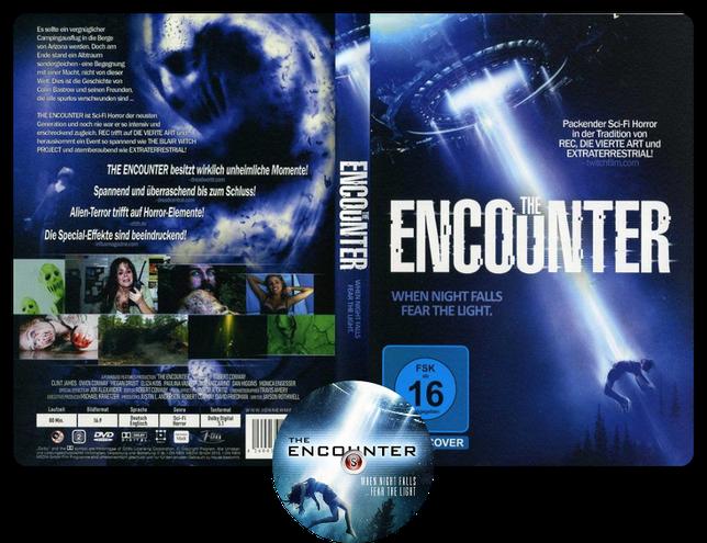 The encounter - Copertina DVD + CD