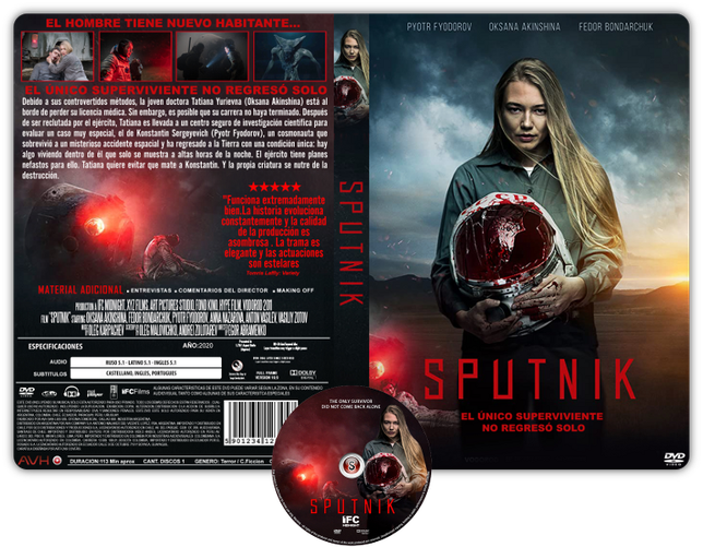 Sputnik - Locandina - Copertina DVD + CD