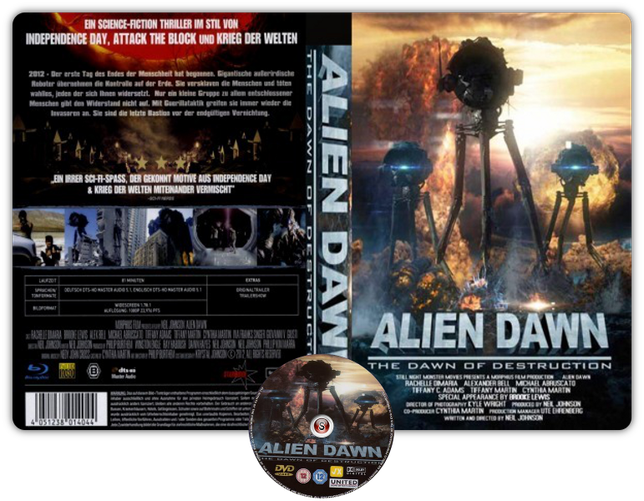 Alien dawn - Copertina DVD + CD