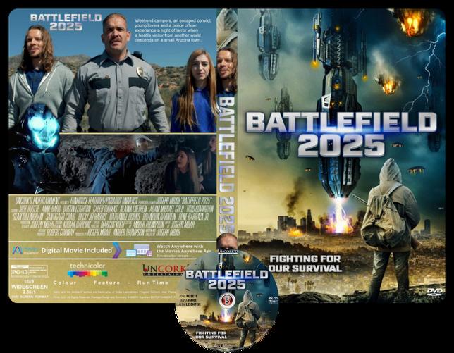 Battlefield 2025  - Copertina DVD + CD