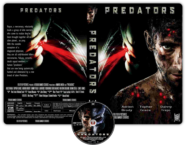 Predators Copertina DVD + CD