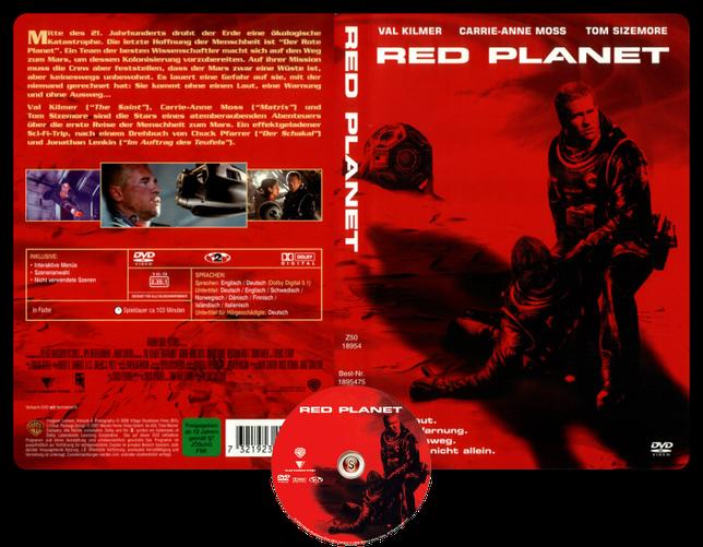 Pianeta rosso Copertina DVD + CD