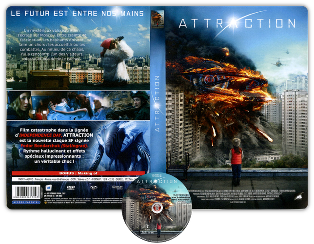 Attraction - Copertina DVD + CD