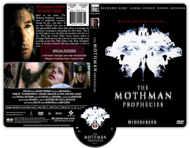 The mothman prophecies - Copertina DVD + CD