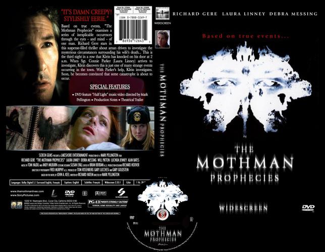The mothman prophecies - Copertina DVD + CD