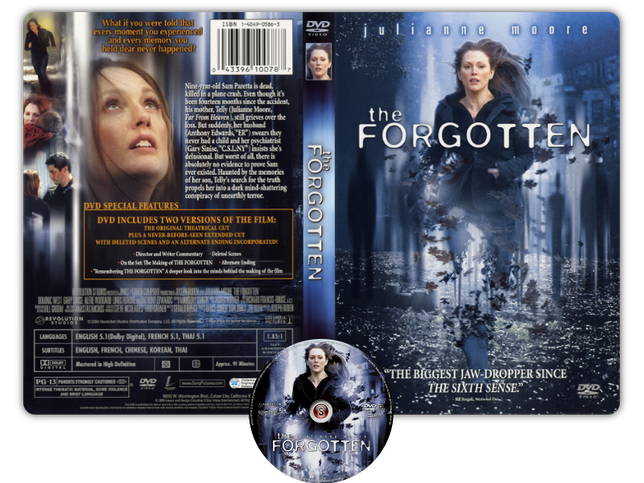 The FORGOTTEN - Copertina DVD + CD