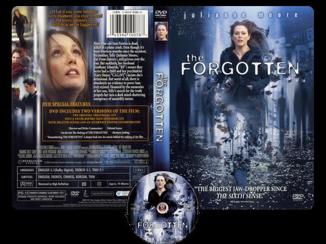The Forgotten - Copertina DVD + CD