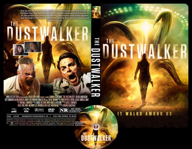 The dustwalker - Copertina DVD + CD