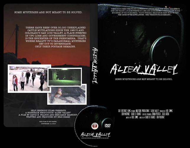 Alien Valley - Copertina DVD + CD