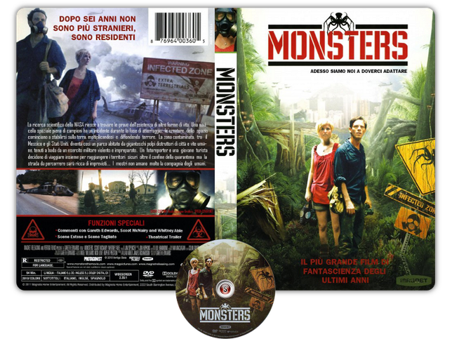 Monsters Copertina DVD + CD