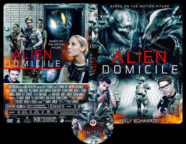 Alien domicile - Copertina DVD + CD
