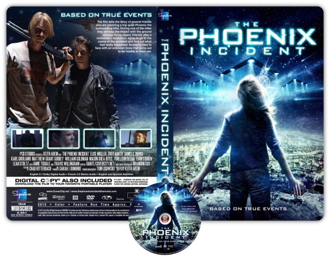 The Phoenix incident - Copertina DVD + CD