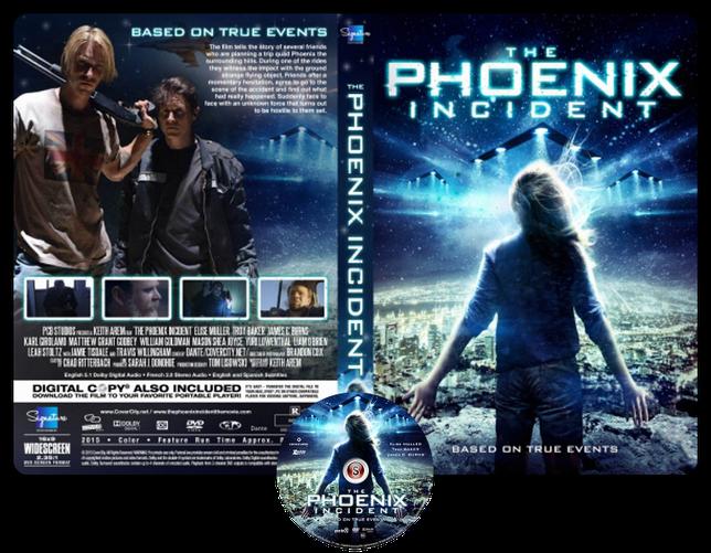 The Phoenix incident - Copertina DVD + CD