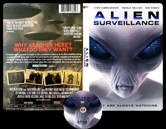 Alien survellaince - Copertina DVD + CD