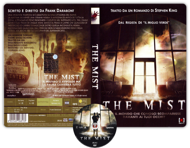 The mist Copertina DVD + CD