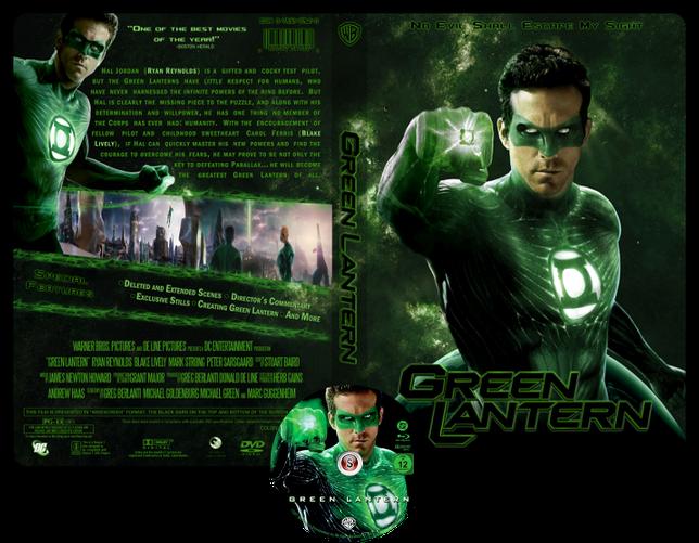Green lantern - Lanterna verde - Copertina DVD + CD