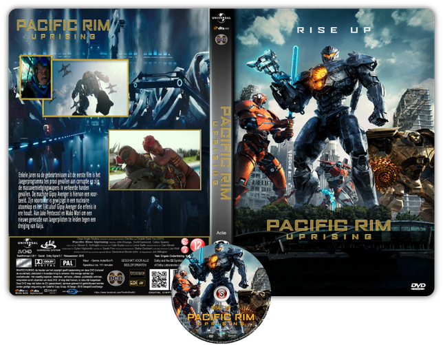 Pacific Rim Uprising Copertina DVD + CD