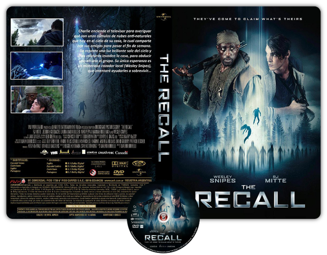 The recall - Copertina DVD + CD
