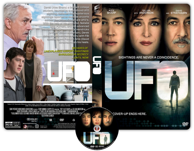 UFO - INTERFERENZE - Copertina DVD + CD