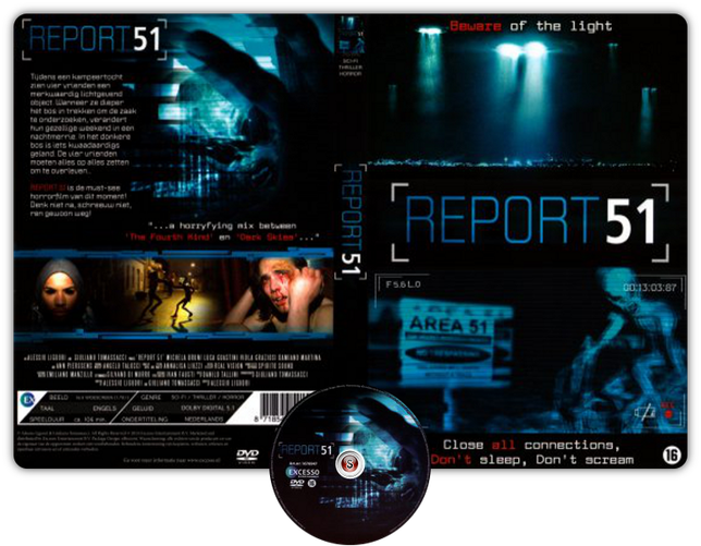 Report 51 - Copertina DVD + CD