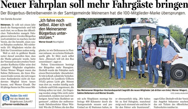 Gifhorner Rundschau vom 17.09.2018