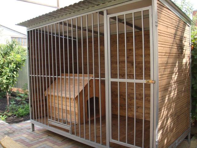вольер деревянный ,вольер металлический для собаки