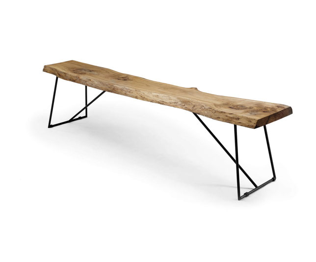 скамейка деревянная стиль лофт садовая интерьерная массив дерева