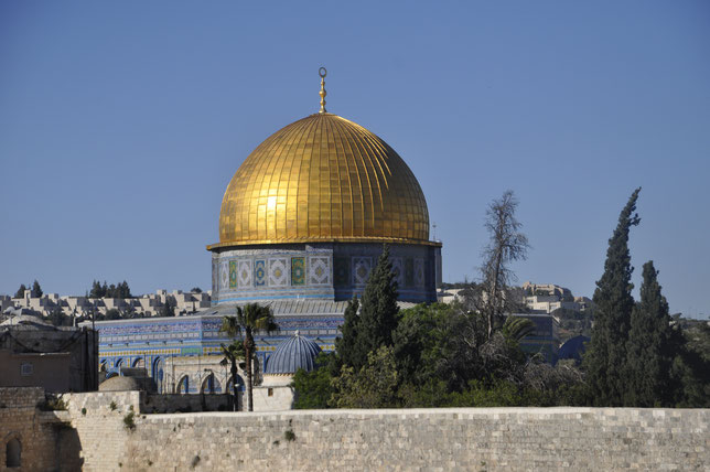The Dome on the Rock's view