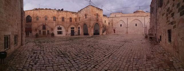 Площадь Армянского квартала в Иерусалиме
