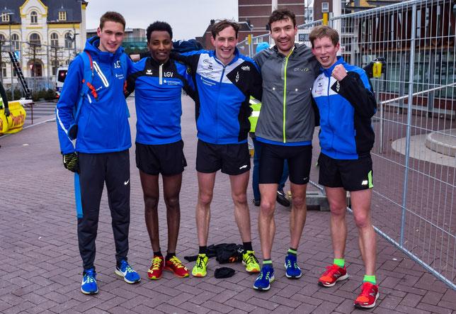 Die Sportler der LG Vulkaneifel stellen trotz anhaltender Kälte einen neuen Rheinland-Pfalz-Rekord auf