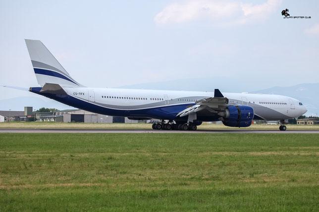 Airbus A340 - MSN 912 - CS-TFX  Airline HiFly @ Aeroporto di Verona - 2016 © Piti Spotter Club Verona
