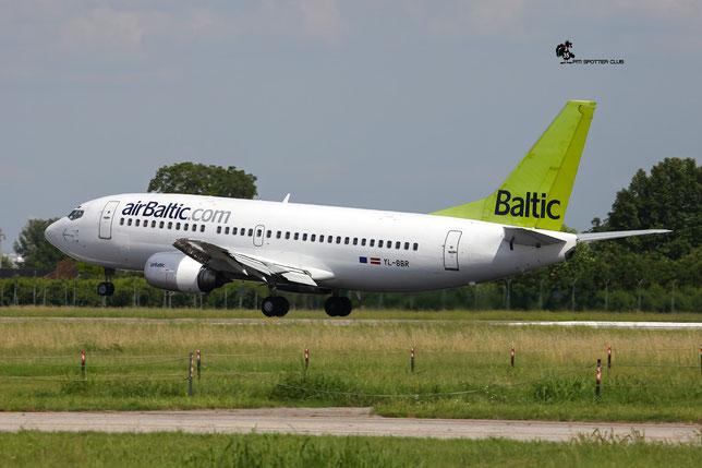 YL-BBR B737-31S 29266/3092 airBaltic @ Aeroporto di Verona - 18/06/2016 © Piti Spotter Club Verona