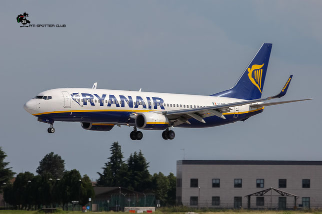 EI-EVO B737-8AS 40297/4011 Ryanair @ Aeroporto di Verona - 18/06/2016 © Piti Spotter Club Verona