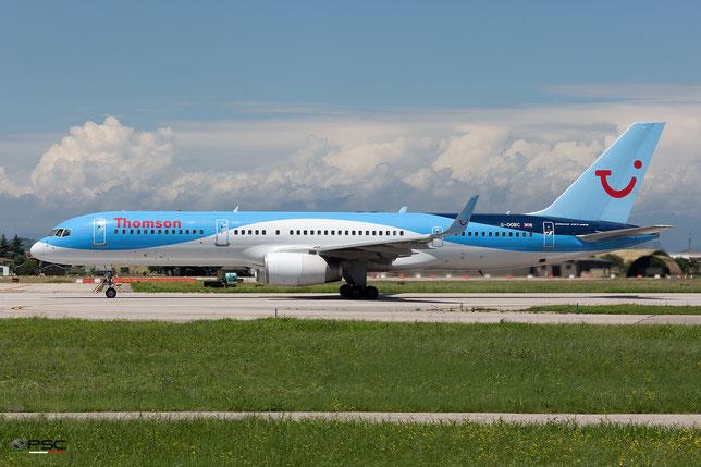 G-OOBC B757-28A 33098/1026 Thomson Airways @ Aeroporto di Verona - 15/06/2016 © Piti Spotter Club Verona