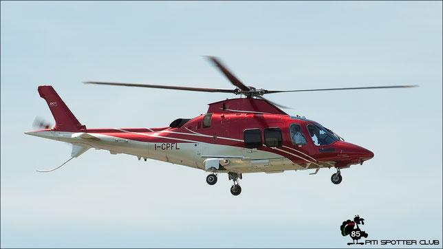 I-CPFL  AgustaWestland AW109SP GrandNew ( c/n 22335 ) - mfg: 2015 @ Aeroporto di Verona - 21/06/2016 © Piti Spotter Club Verona