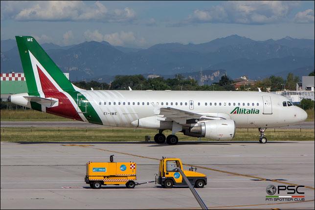 EI-IME A319-112 1740 Alitalia @ Aeroporto di Verona - 20/09/2016 © Piti Spotter Club Verona